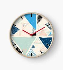 Triangles Clock