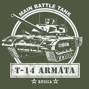 T-14 Armata Russian Main Battle Tank by RycoTokyo81