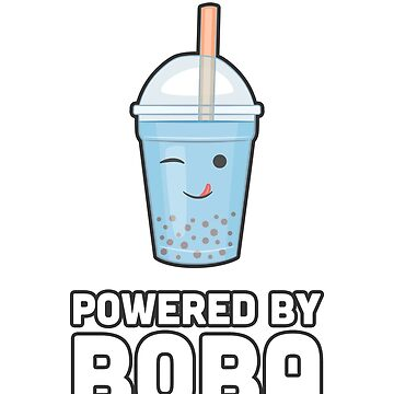 Powered By Boba - Bubble Tea Boba T Shirt Cute Gift by noirty