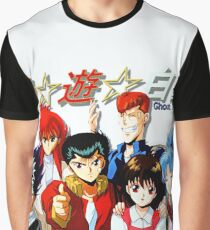 Yu Yu Hakusho Gang Graphic T-Shirt