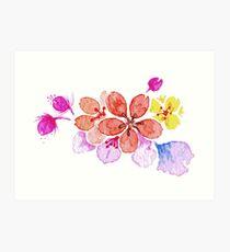 Blumenzauber Kunstdruck