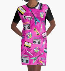 The 80's Graphic T-Shirt Dress