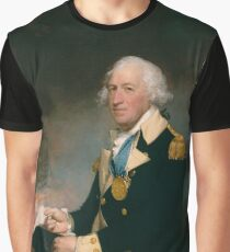 Horatio Gates, Gilbert Stuart (American, North Kingston, Rhode Island 1755–1828 Boston, Massachusetts) Graphic T-Shirt
