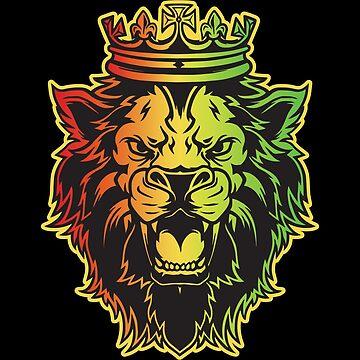 Lion King Crown Tshirt Gift by Netsrikfa