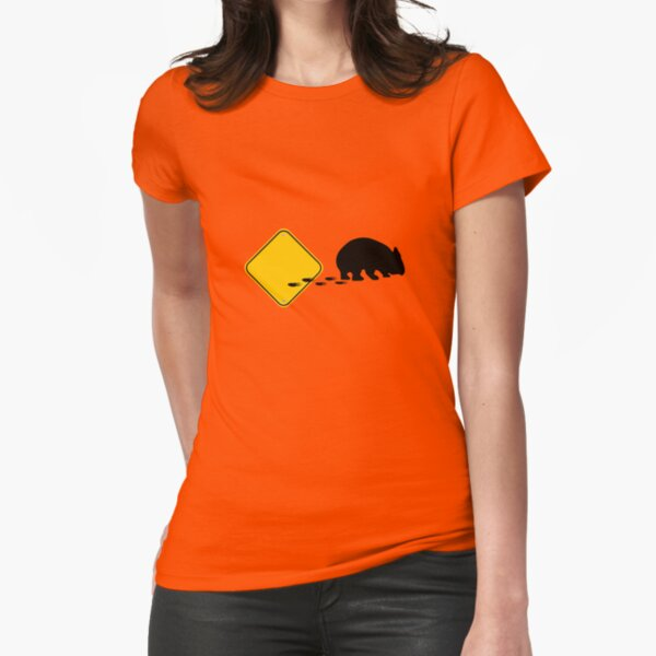 Wombat, break out! Fitted T-Shirt
