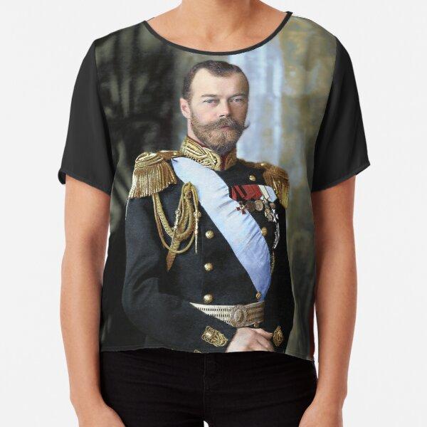 Tsar Nicholas II of Russia Chiffon Top