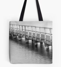 Afternoon at the jetty Tote Bag