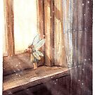 Fairy in a window by Embla Granqvist