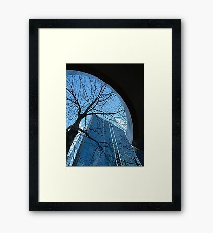 Arch-itecture Framed Print