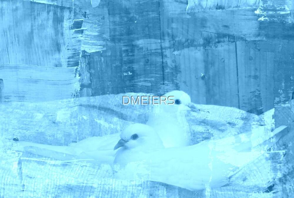 blue art by DMEIERS