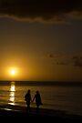 Sunset Walk by Walter Quirtmair