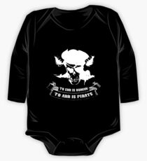 To Err Is Human To Arr Is Pirate One Piece - Long Sleeve