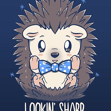 Lookin Sharp Dapper Hedgehog by TechraNova