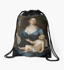Mrs. Francis Brinley and Her Son Francis,  John Smibert (American, Edinburgh, Scotland 1688–1751 Boston, Massachusetts) Drawstring Bag