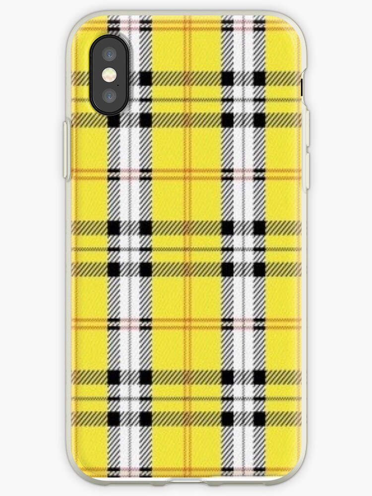 low priced 30080 8fb28 'wildflower yellow plaid' iPhone Case by hlncxiiiv