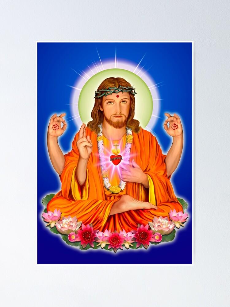 Alternate view of Jesus in India Poster