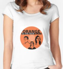 Orange is the new black Women's Fitted Scoop T-Shirt