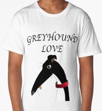 GREYHOUND LOVE Long T-Shirt