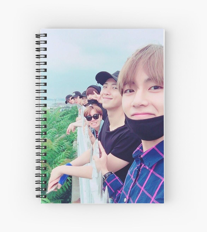 BTS - Notizbuch von mbtae