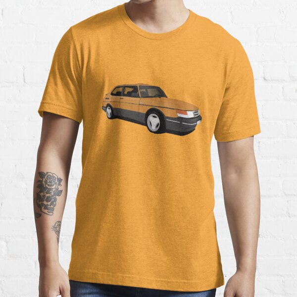 Orange Saab 900 Turbo 16 Aero illustration Essential T-Shirt