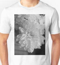 White Bloom (Balck And White) Unisex T-Shirt