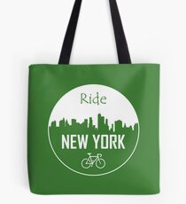 New York Cycling Tote Bag