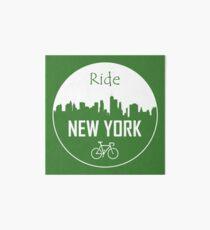 New York Cycling Art Board