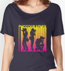 Retro 1980s Photographer Women's Relaxed Fit T-Shirt