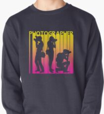 Retro 1980s Photographer Pullover