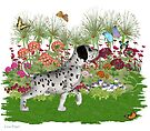 July Puppy .. playing with the butterflies by LoneAngel