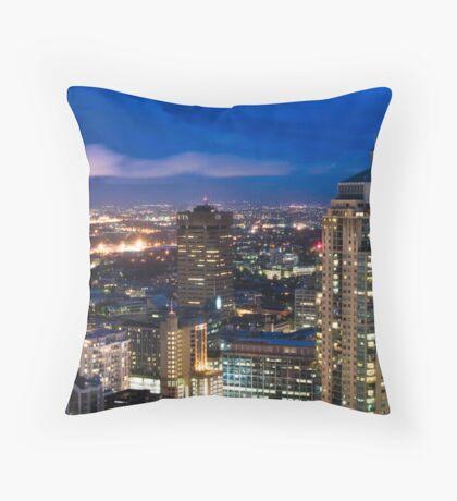 Haymarket Twilight Throw Pillow