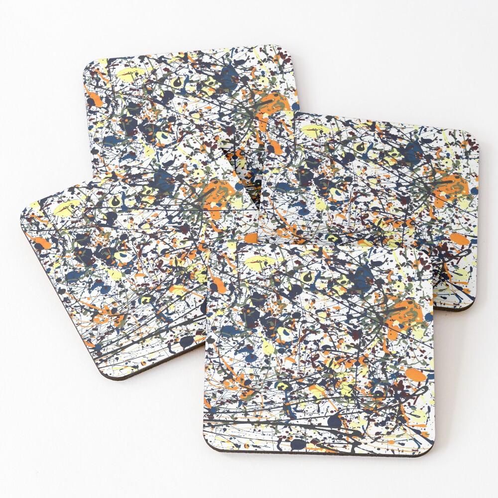 mijumi Pollock Coasters (Set of 4)
