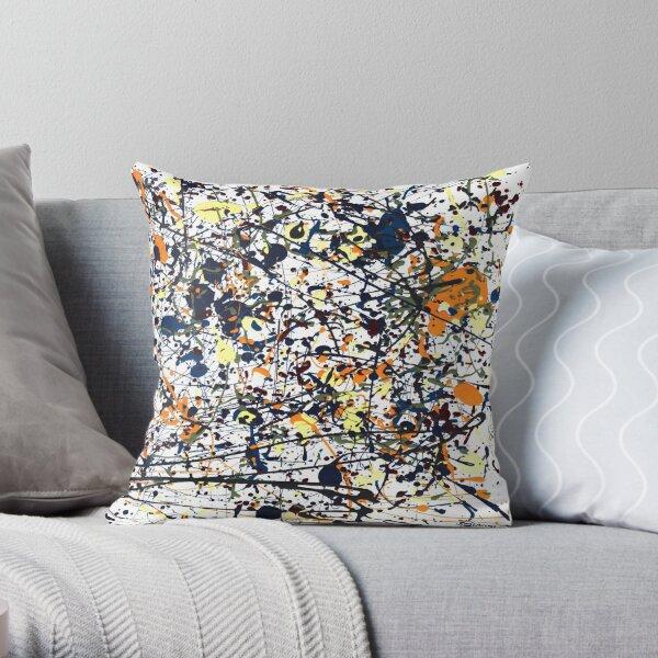 mijumi Pollock Throw Pillow