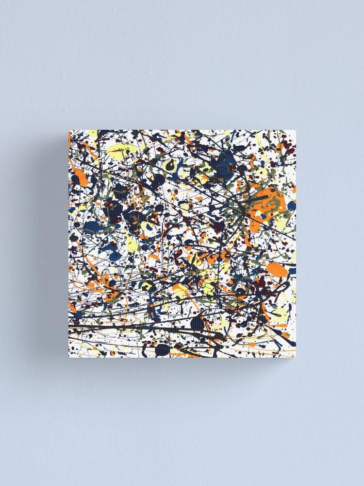 Alternate view of mijumi Pollock Canvas Print