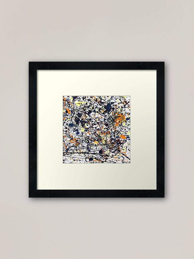 Alternate view of mijumi Pollock Framed Art Print