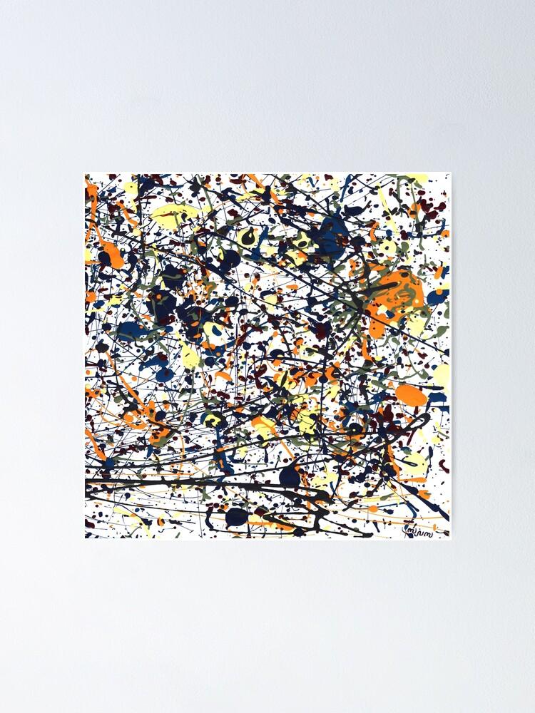 Alternate view of mijumi Pollock Poster