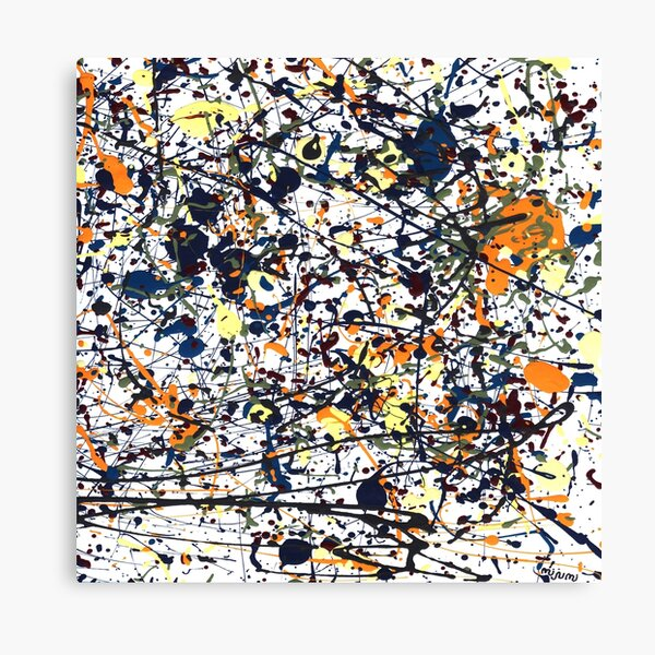mijumi Pollock Canvas Print
