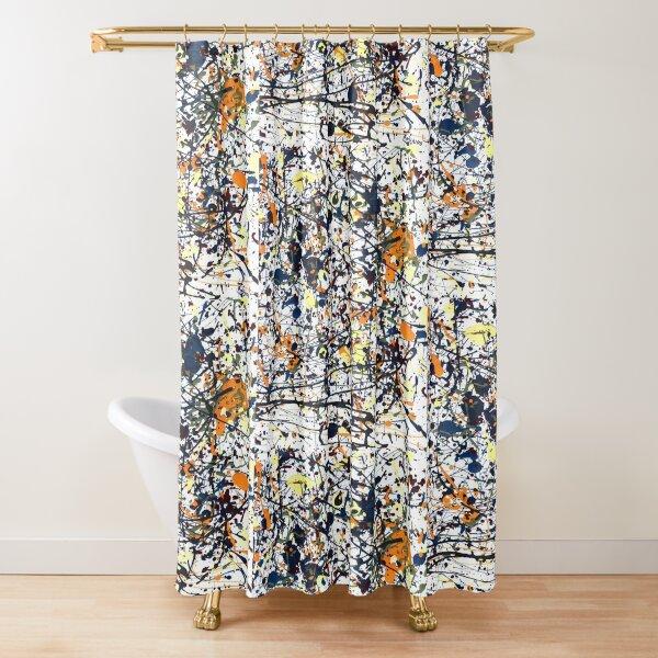 mijumi Pollock Shower Curtain