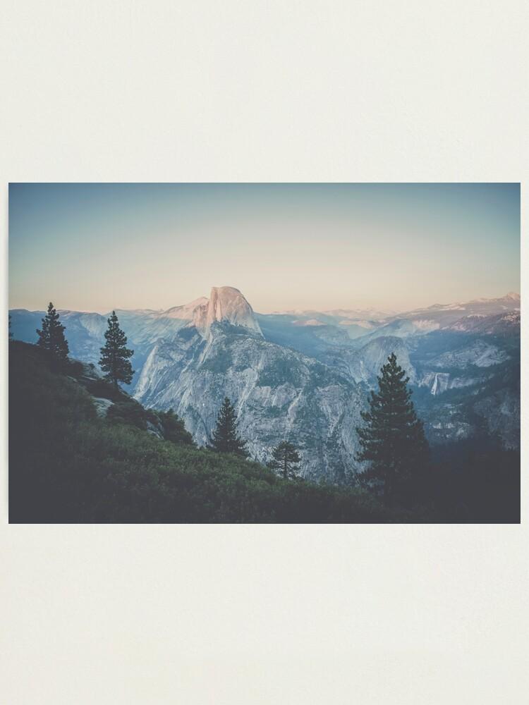 Alternate view of Half Dome VII Photographic Print