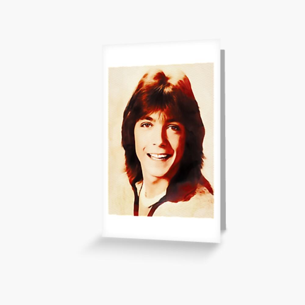 Carte de vœux «David Cassidy, Star d'Hollywood»