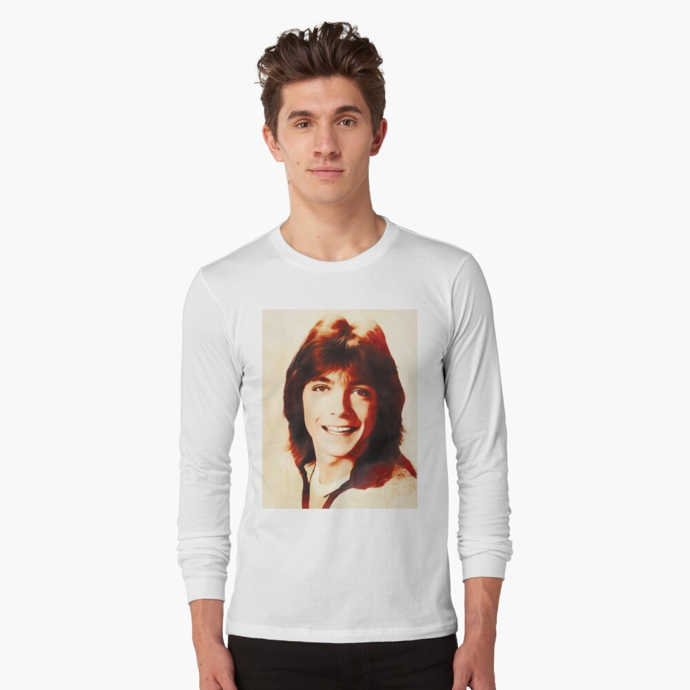 T-shirt manches longues « David Cassidy, Star d'Hollywood»