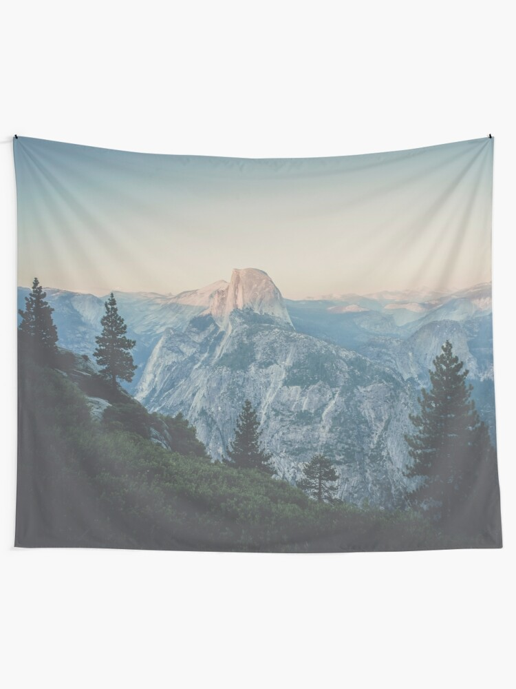 Alternate view of Half Dome VII Tapestry