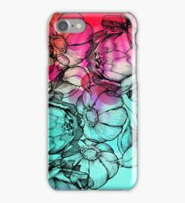 In my garden of colours iPhone Case/Skin