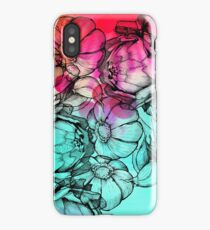 In my garden of colours iPhone Case
