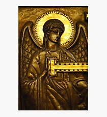 Golden Angel Photographic Print