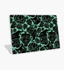 Halloween Pattern (Teal) Laptop Skin