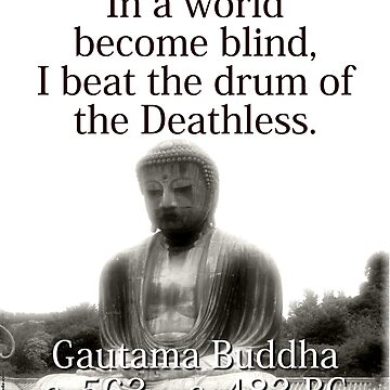 In A World Become Blind - Buddha by CrankyOldDude