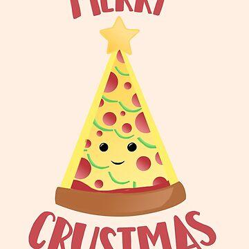 Merry CRUSTMAS - Pizza Christmas by JTBeginning-x