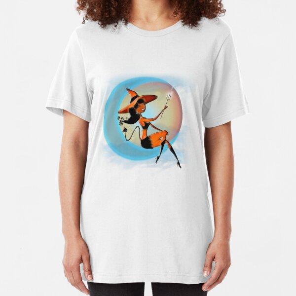 Devil Girl - Halloween 5 Slim Fit T-Shirt
