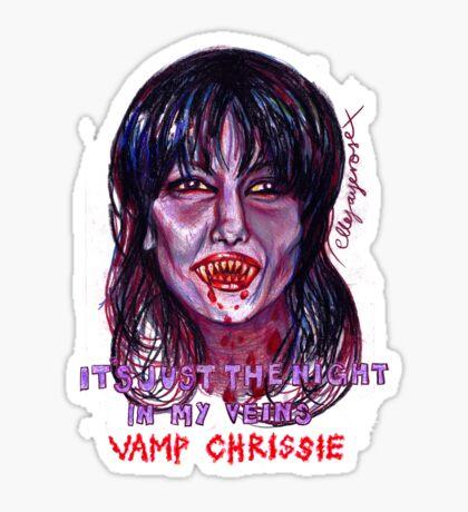 Vamp Chrissie Sticker